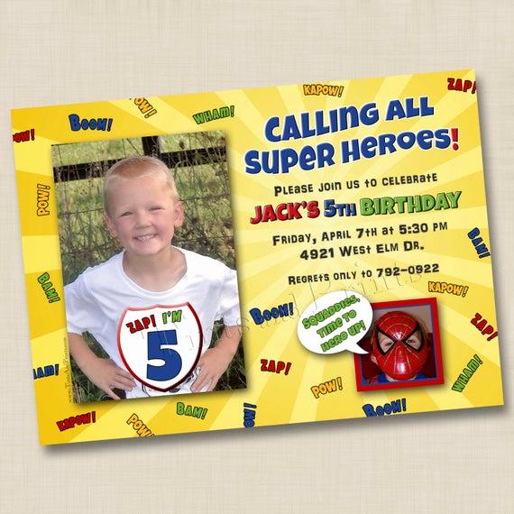 Calling All Superheroes Invitation Fresh Calling All Superheroes Custom Card Invitation Design