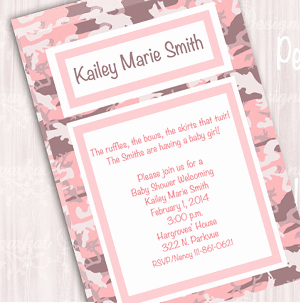 Camo Baby Shower Invitation Awesome Unavailable Listing On Etsy