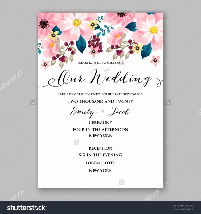 Card Shower Invitation Wording New Poinsettia Wedding Invitation Sample Card Beautiful Winter