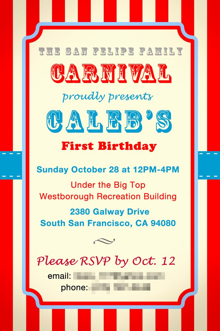 Carnival Invitation Template Free Fresh Pin by Claire Taylor On 50th Birthday Cet