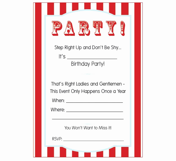 Carnival Invitation Template Free Inspirational Carnival Ticket Invitation Template Cliparts
