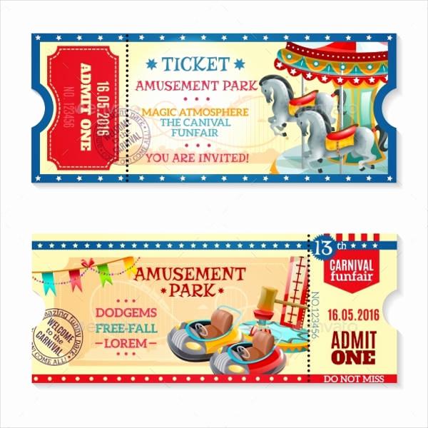 Carnival Ticket Invitation Template Unique 15 Carnival Ticket Templates Free Psd Ai Vector Eps