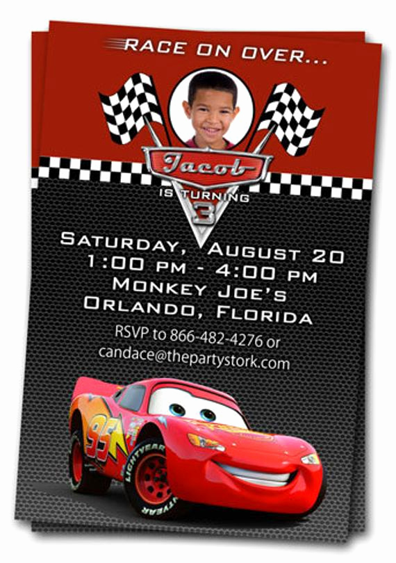 Cars Invitation Template Free Elegant Cars Invitations Printable Custom Birthday Party by