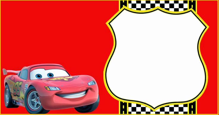 Cars Invitation Template Free Inspirational Best 25 Lightning Mcqueen Ideas On Pinterest