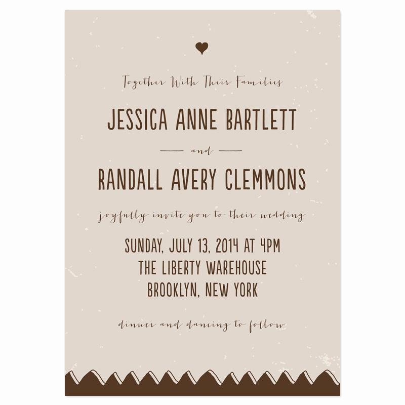 Casual Wedding Invitation Wording Awesome Drawn to Her Wedding Invitations Fall Wedding