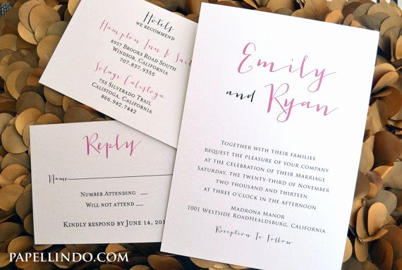 Casual Wedding Invitation Wording Elegant 25 Best Ideas About Casual Wedding Invitations On