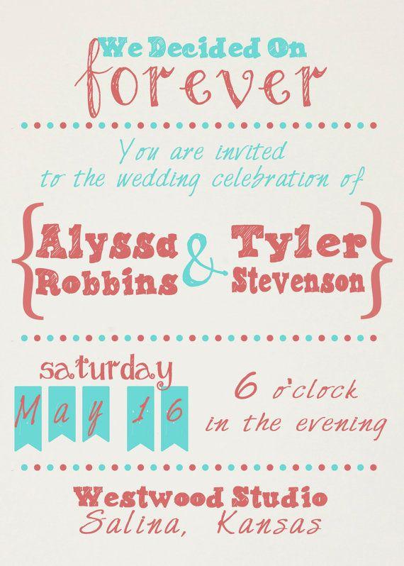 Casual Wedding Invitation Wording Elegant top 25 Best Casual Wedding Invitations Ideas On Pinterest