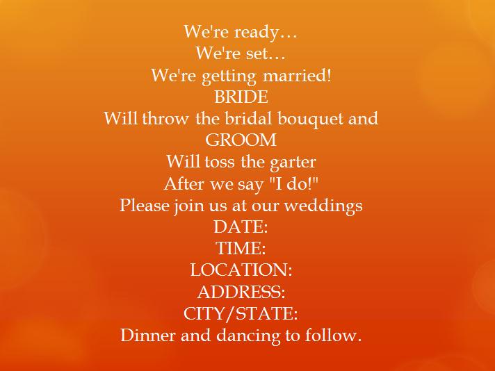Casual Wedding Invitation Wording Fresh 15 Samples for Casual Invitation Wording for Wedding