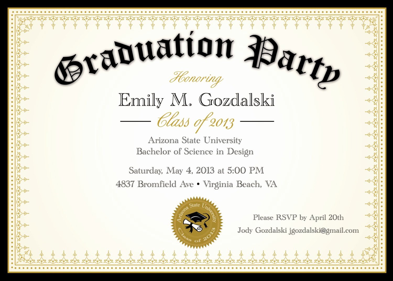 Catchy Graduation Invitation Phrases Best Of Funny Graduation Party Invitations Templates