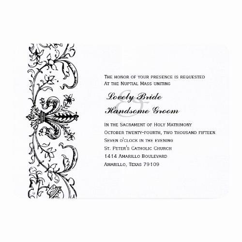 Catholic Wedding Invitation Wording Best Of 177 Best Catholic Wedding Invitations Images On Pinterest