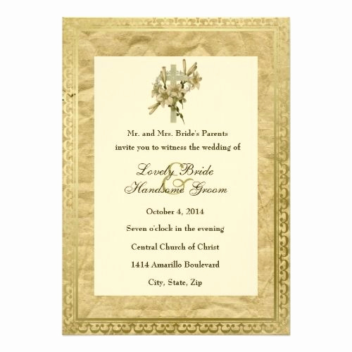 Catholic Wedding Invitation Wordings Luxury 177 Best Catholic Wedding Invitations Images On Pinterest