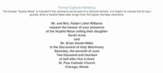 Catholic Wedding Invitation Wordings New 434 Best Wedding Images On Pinterest