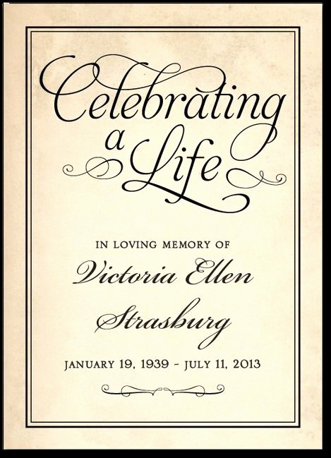 Celebration Of Life Invitation Ideas Beautiful Celebration Of Life Quotes and Word Art