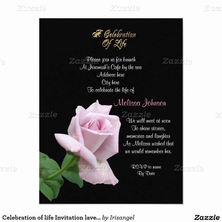 Celebration Of Life Invitation Ideas Best Of 93 Best Images About Celebration Of Life Invitations On
