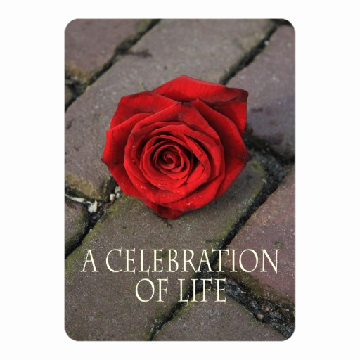 Celebration Of Life Invitation Ideas Inspirational Celebration Of Life Invitation