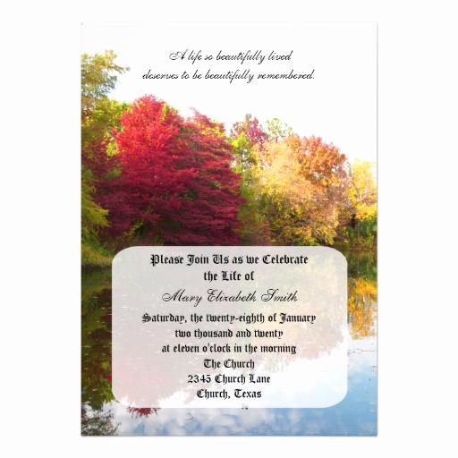 celebration of life milestones invitations
