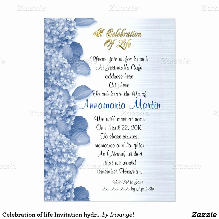 Celebration Of Life Invitation Wording Elegant 17 Best Images About Celebration Of Life Invitations On