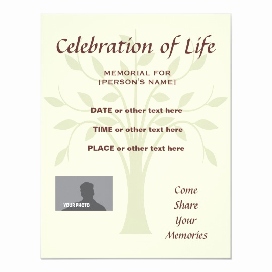 Celebration Of Life Invitation Wording Lovely Memorial Celebration Of Life Burgundy Invitatation Card