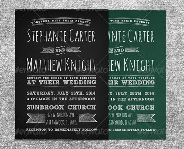 Chalkboard Invitation Template Free New Chalkboard Invitation Template 43 Free Jpg Psd