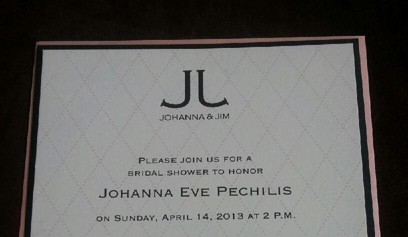 Chanel Bridal Shower Invitation Lovely the Mons 1854 Blog Chanel Bridal Shower for Our Gm