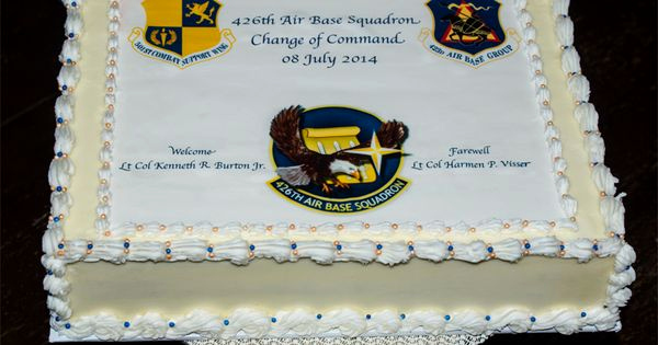 Change Of Command Invitation Beautiful U S Air force Change Of Mand Cake Cakes