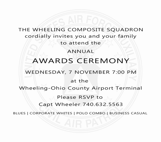 Change Of Command Invitation Inspirational Category General Announcement Wheeling Cap