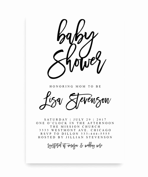 Cheap Baby Shower Invitation Awesome Best 25 Cheap Baby Shower Ideas On Pinterest