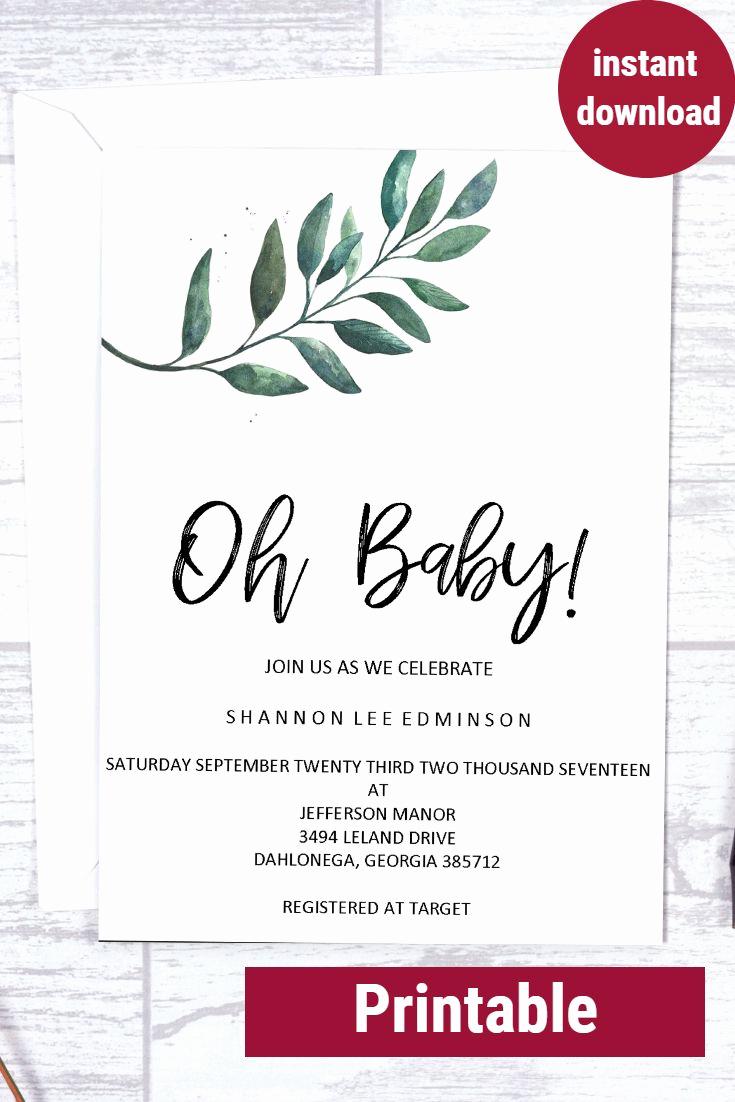 Cheap Baby Shower Invitation Elegant Best 25 Cheap Baby Shower Ideas On Pinterest