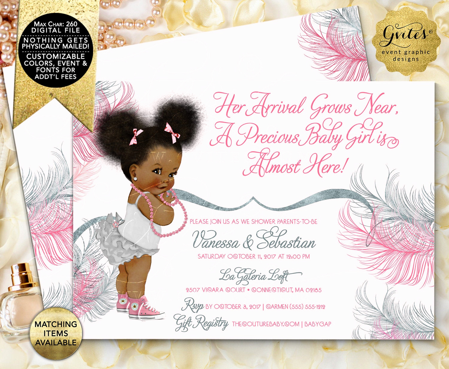 Cheap Baby Shower Invitation Lovely Pink and Silver Baby Shower Invitation Printable Invites