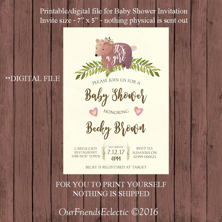 Cheap Baby Shower Invitation New 17 Best Ideas About Woodland Baby Showers On Pinterest