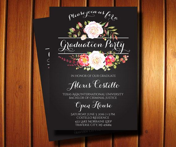 Cheap Graduation Invitation Cards Awesome Best 25 Graduation Invitations Ideas Only On Pinterest