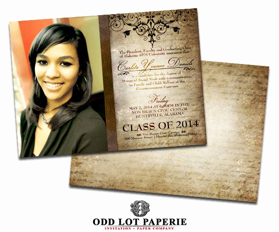 Cheap Graduation Invitation Cards Best Of Rustic Graduation Invitation Grad Invite Old World