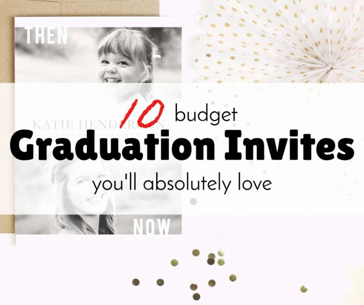 Cheap Graduation Invitation Cards Fresh 25 Unique Cheap Graduation Announcements Ideas On