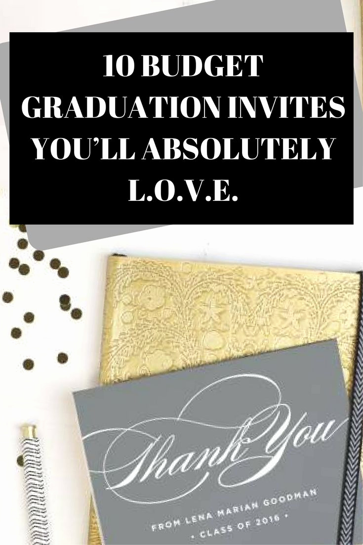 Cheap Graduation Invitation Cards Inspirational 25 Unique Cheap Graduation Announcements Ideas On