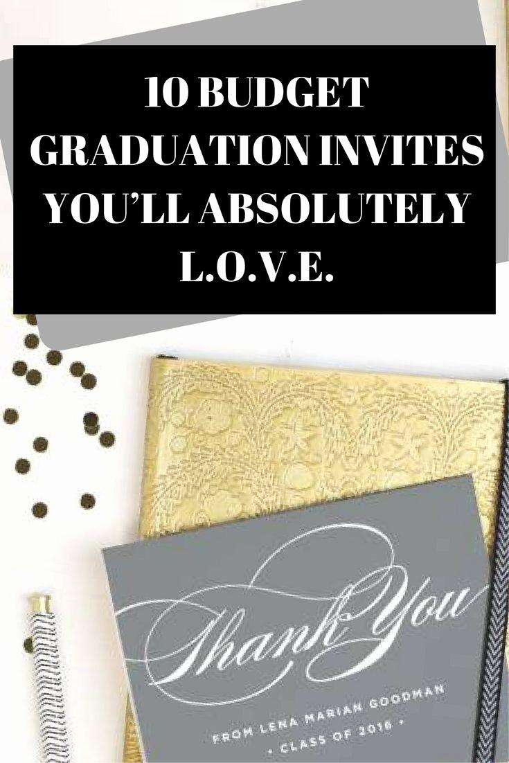 Cheap Graduation Invitation Cards Inspirational 25 Unique Cheap Graduation Announcements Ideas On