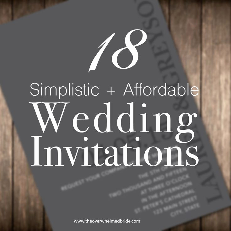 Cheap Wedding Invitation Ideas Beautiful 1000 Ideas About Inexpensive Wedding Invitations On