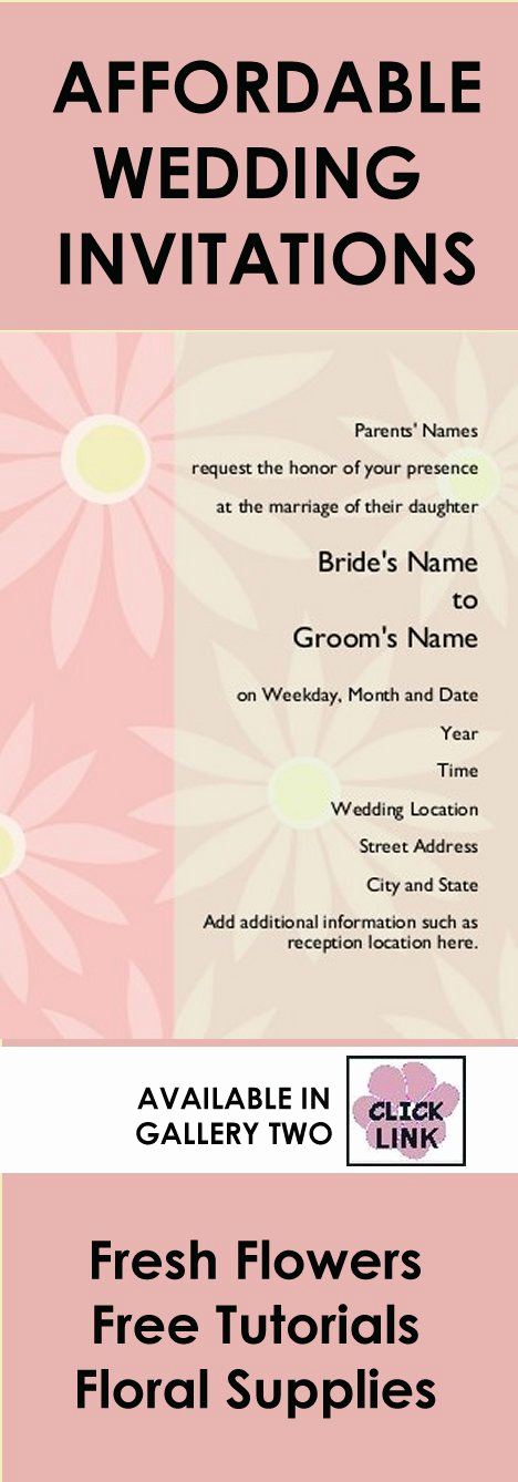Cheap Wedding Invitation Ideas Fresh Cheap Wedding Invitation