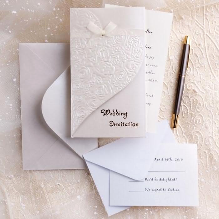 Cheap Wedding Invitation Ideas Inspirational Silver and White Creates the Perfect Modern Wedding theme