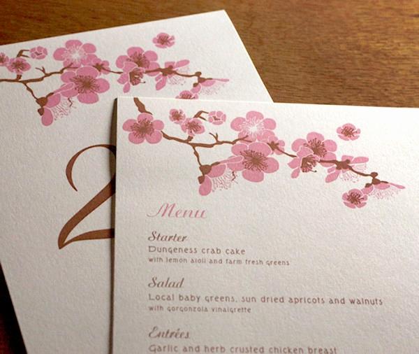 Cherry Blossom Wedding Invitation Beautiful Spring 2015 Pantone Color Report Sandstone