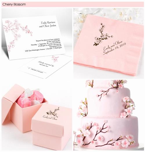 Cherry Blossom Wedding Invitation Elegant Pin to Win $100 Worth Of Wedding Invitations