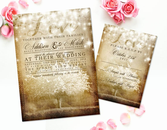 Cherry Blossom Wedding Invitation Fresh Cherry Blossom Wedding Invitations Rustic Wedding Invite Suite