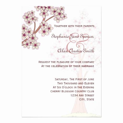 Cherry Blossom Wedding Invitation Inspirational 4 000 Cherry Blossom Invitations Cherry Blossom