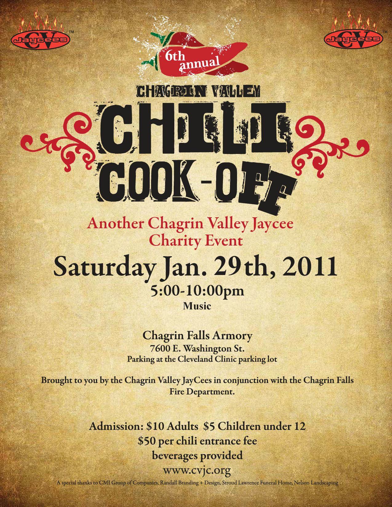 Chili Cook Off Invitation Template Elegant Chili Cook F Flyer Template Free Printable Wow