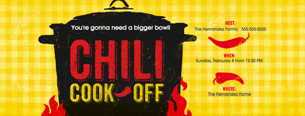 Chili Cook Off Invitation Wording Elegant How to Throw A Chili Cook F Party Evite