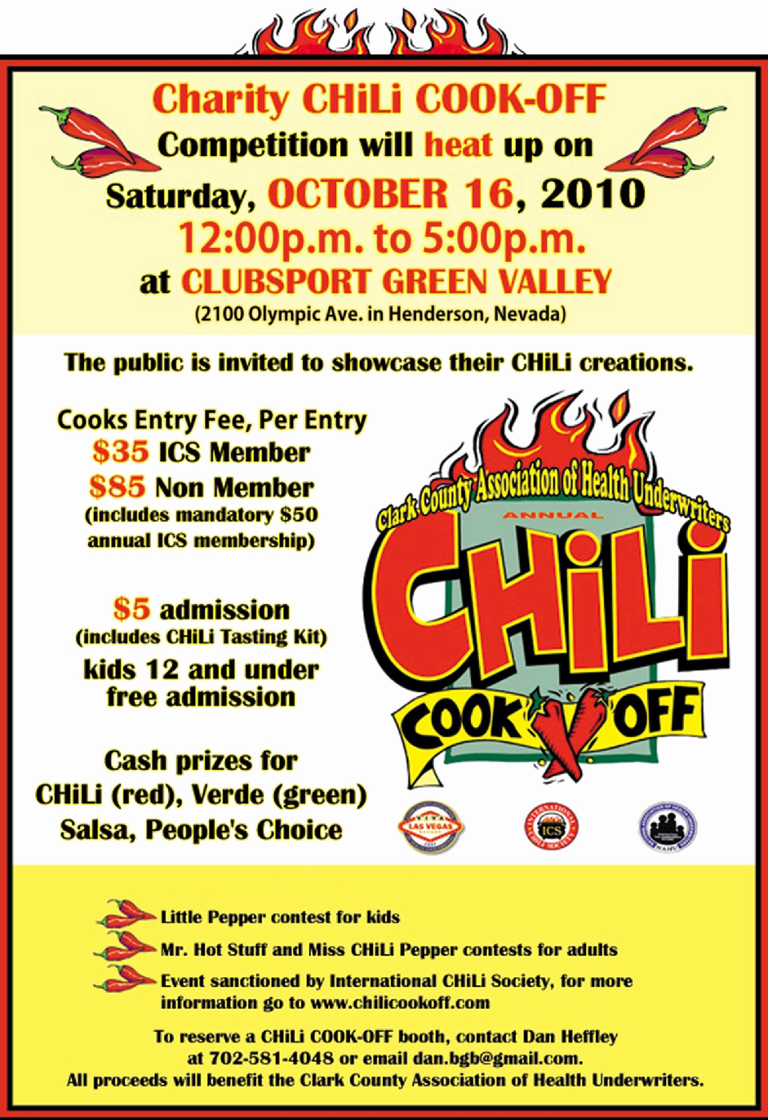 Chili Cook Off Invitation Wording Luxury Cookoff Wording