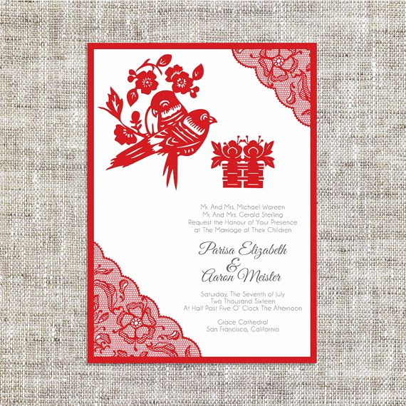 Chinese Wedding Invitation Template Best Of 25 Best Ideas About Chinese Wedding Invitation On