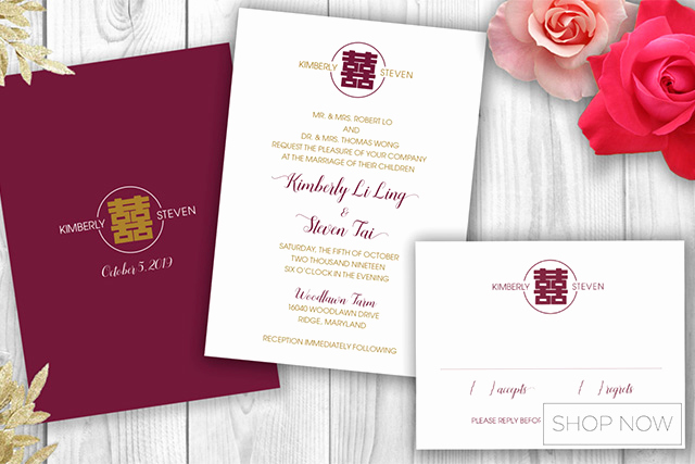 Chinese Wedding Invitation Templates Beautiful Must Know Etiquette On Preparing Your Chinese Wedding