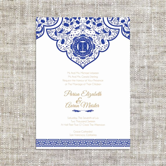 Chinese Wedding Invitation Templates Best Of Diy Printable Editable Chinese Wedding Invitation Card