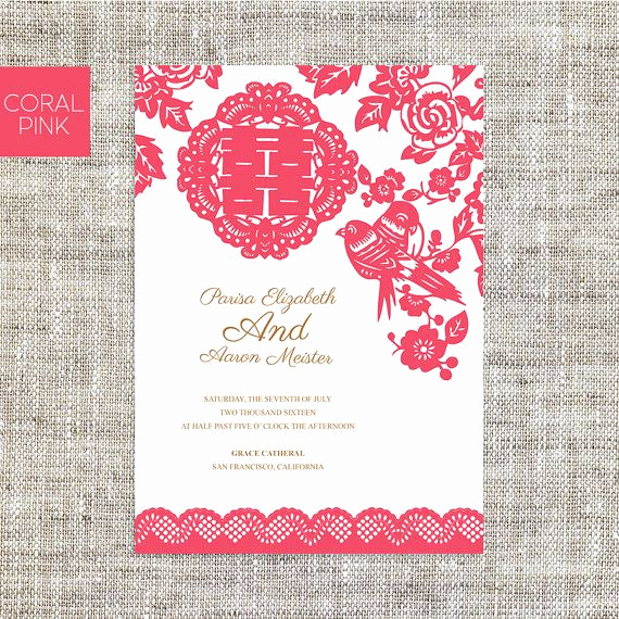 Chinese Wedding Invitation Wordings New Best 25 Chinese Wedding Invitation Ideas On Pinterest