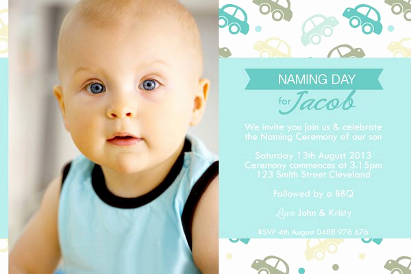 Christening Invitation for Baby Boy New Christening Invitation Boy Background